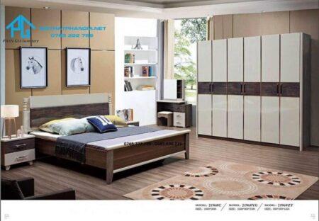 bộ giường tủ cao cấp nhập khẩu 2196