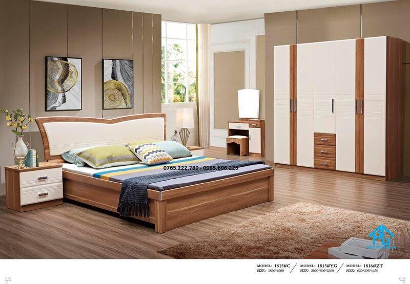 Bộ giường tủ đài loan 1815