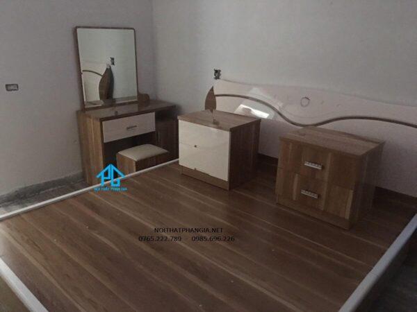 bộ giường tủ hiện đại 868