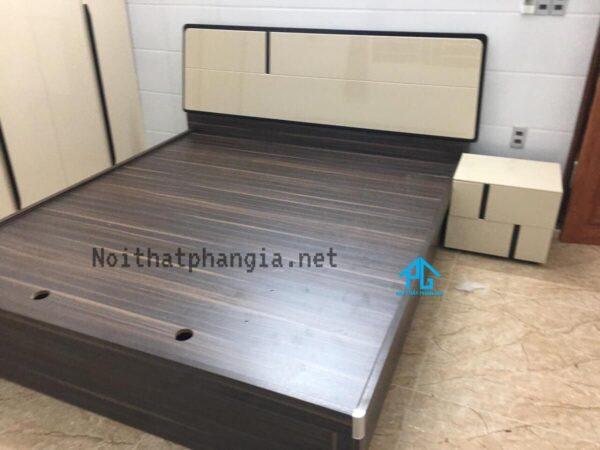 bộ giường tủ nhập khẩu hiện đại 2046