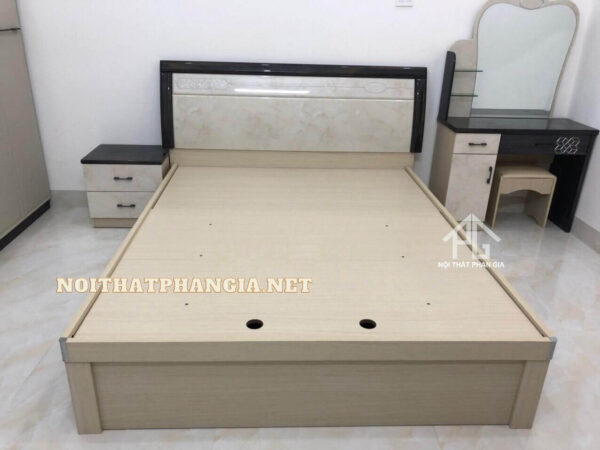 combo giường tủ gỗ công nghiệp 2094 đẹp
