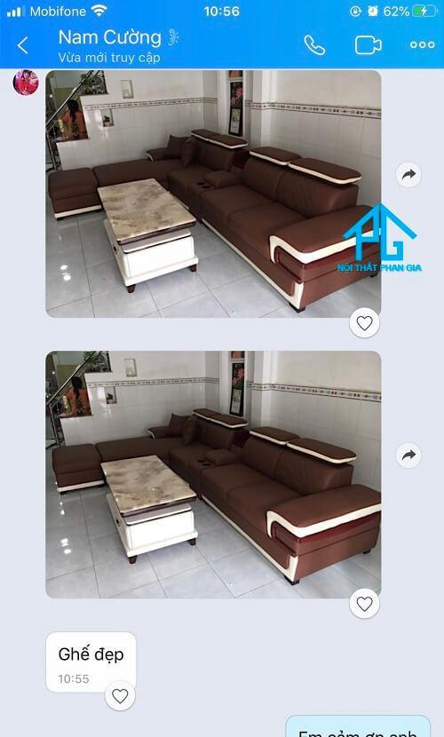 feedback ghế sofa băng đẹp;