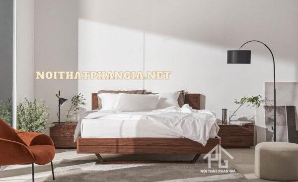 giường ngủ gỗ dỗi tự nhiên