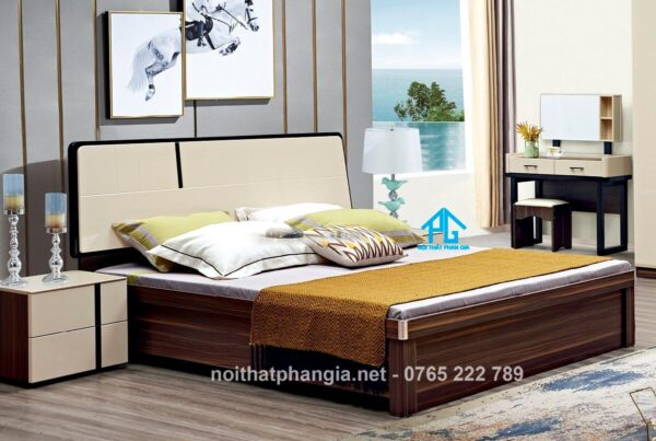 giường ngủ nhập khẩu hiện đại 2046