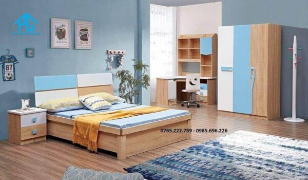 giường tủ bàn học 161
