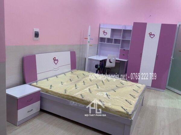giường tủ bàn học 898 đẹp