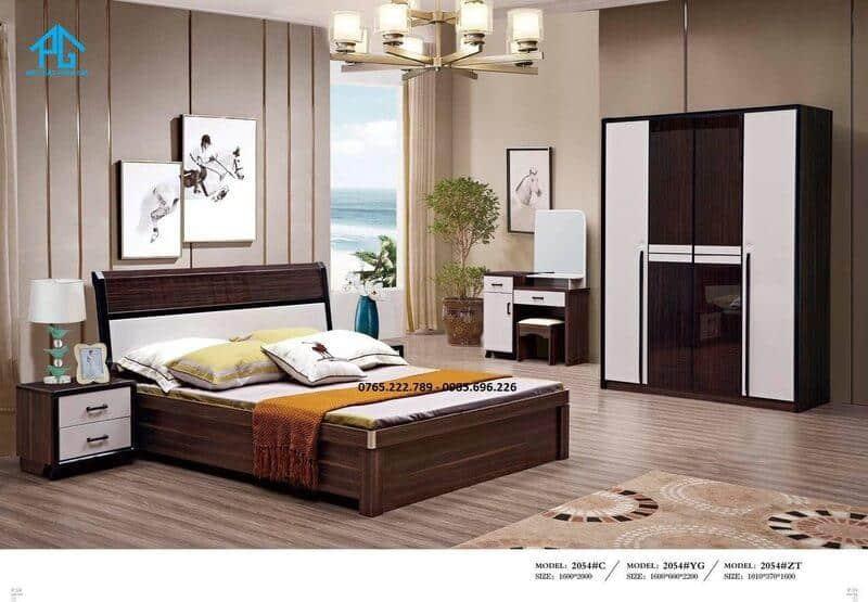 giường tủ cao cấp 2054
