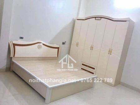 giường tủ nhập khẩu màu sắc trang nhã 1668