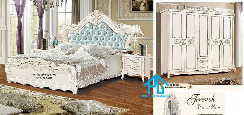 giường ngủ tự nhiên chân kim loại;