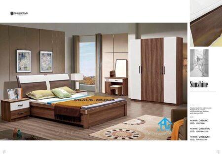 giường tủ phòng ngủ hiện đại 2064