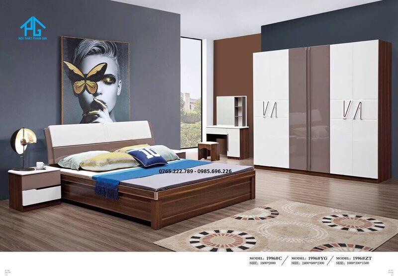 Giường tủ sang trọng giá rẻ 1996