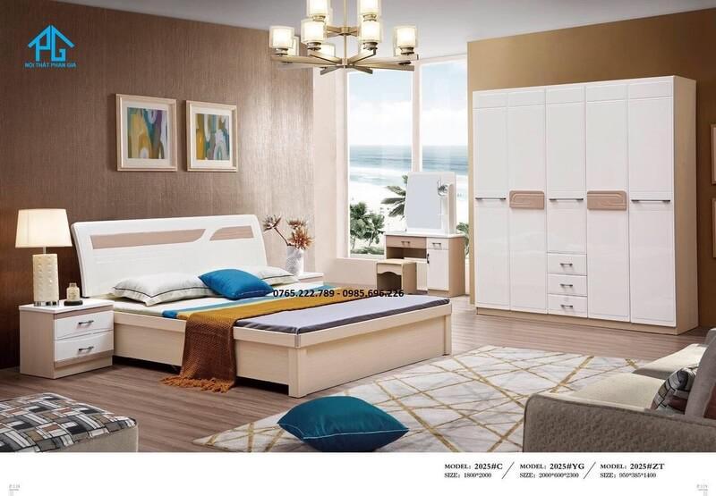 Nội thất giường tủ trọn bộ giá tốt 2025