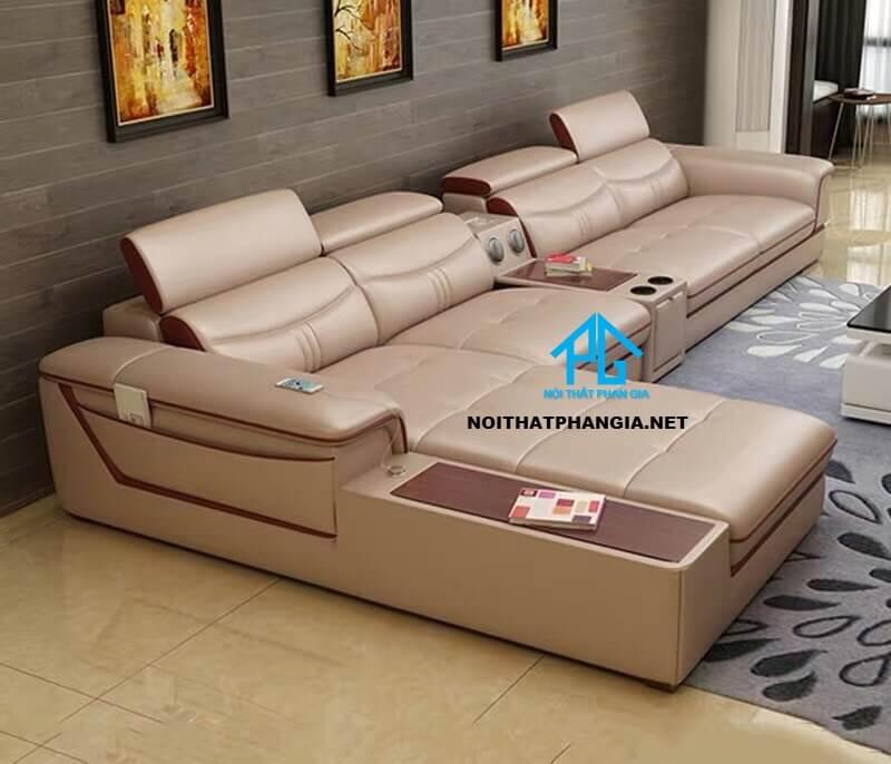 Sofa da hiện đại E20