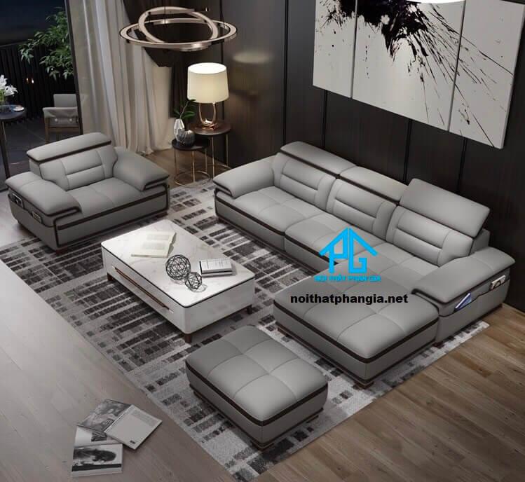 Sofa da hiện đại E29