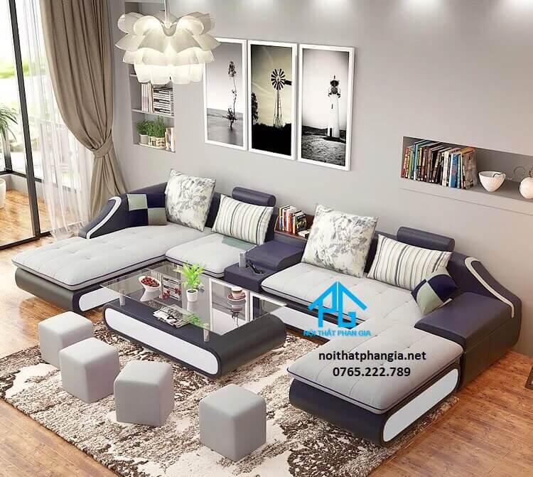 Sofa vải A10 ( 4 ĐÔN )
