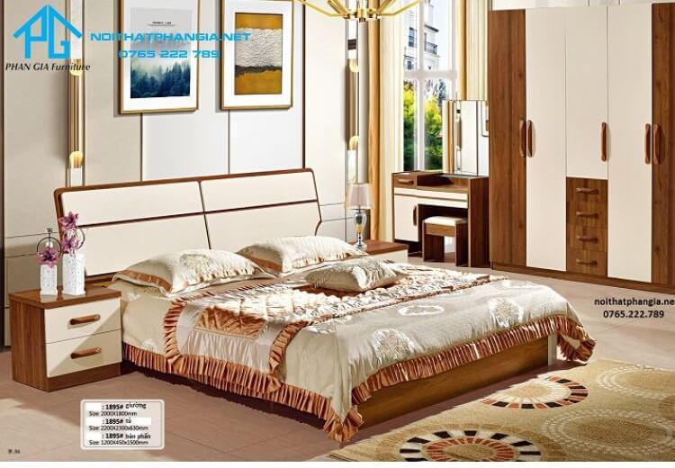 Trọn bộ giường tủ cao cấp 1895