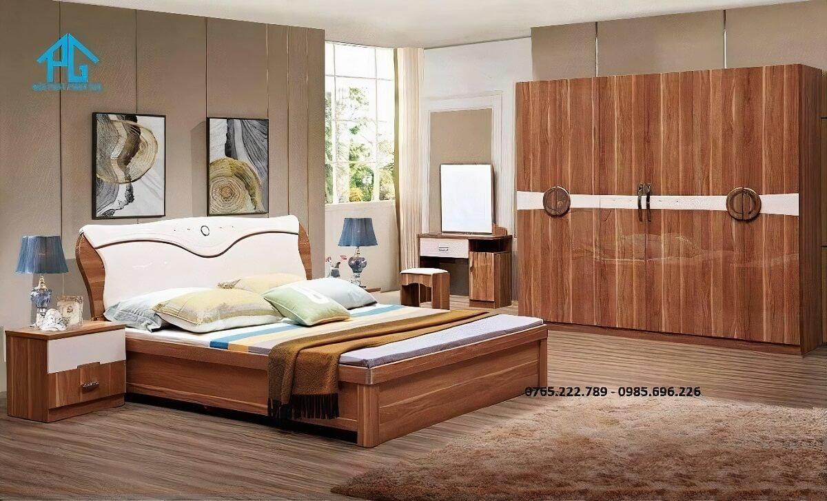 Trọn bộ giường tủ cao cấp 868