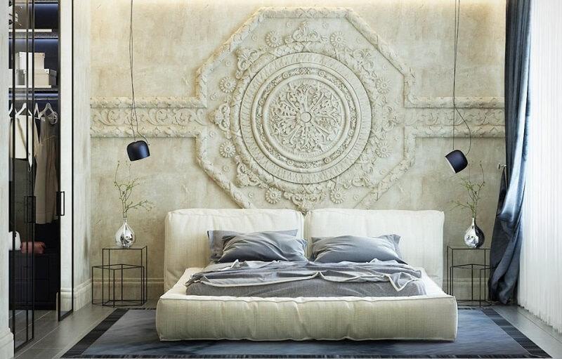 Giường ngủ không chân bằng nệm cao cấp không gầm