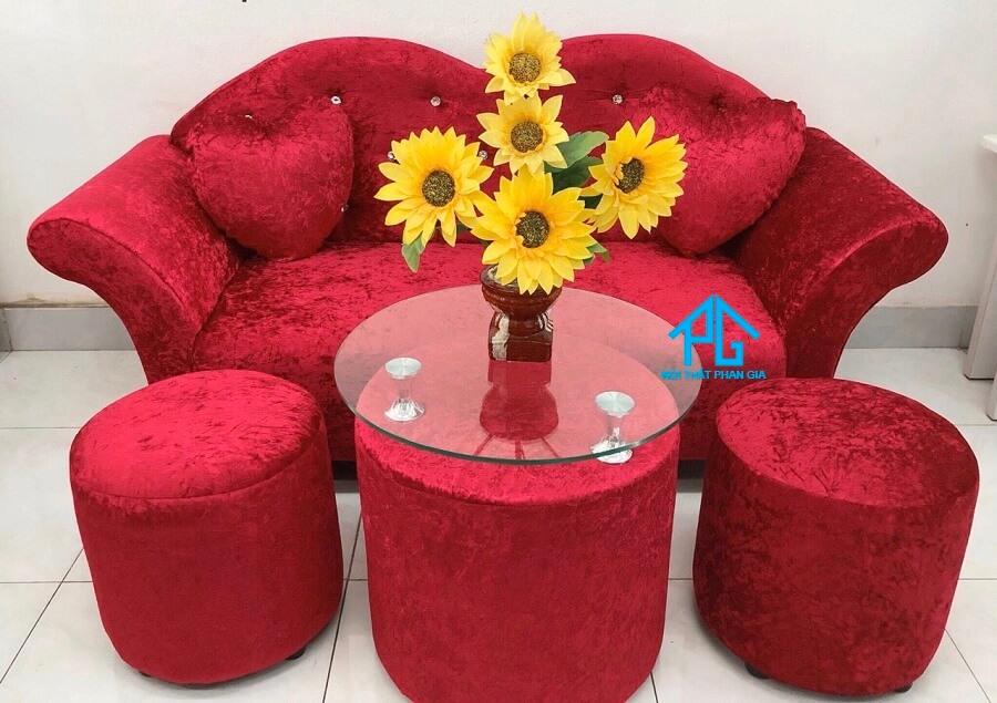 Sofa băng đỏ S01