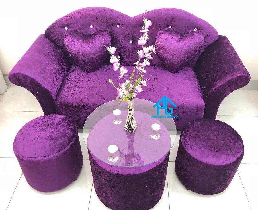 Sofa băng hồng S01