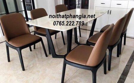 bàn ăn 6 ghế concorde