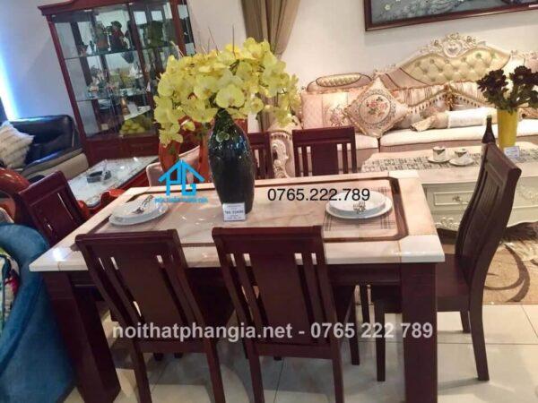bàn ăn 6 ghế đồng nai