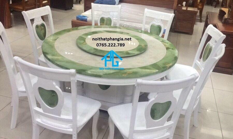 bàn ăn BA04 XANH