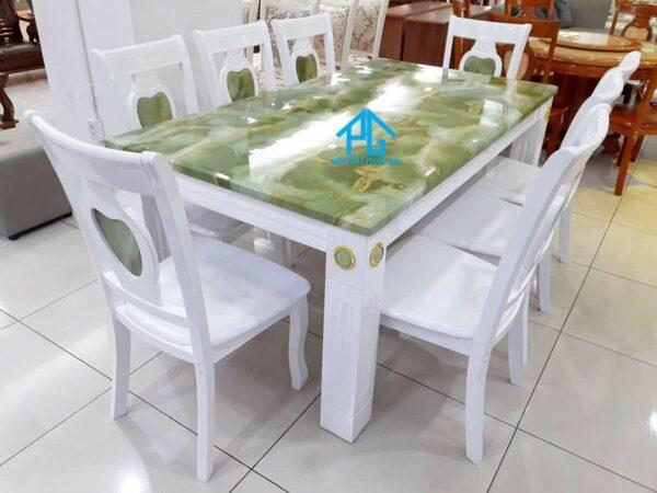 bàn ăn BA16 xanh ngọc