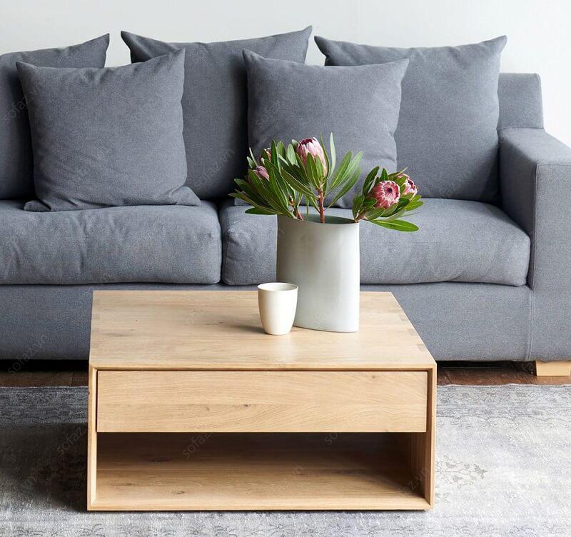 bàn trà sofa gỗ vuông giá rẻ uy tín