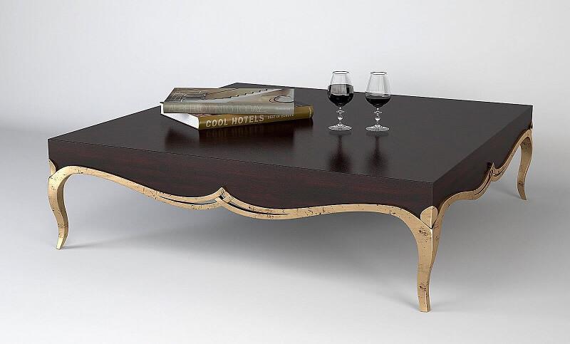 bàn trà sofa tân cổ điển cao cấp
