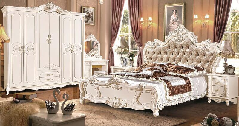 bảng giá các loại giường tủ nhập khẩu