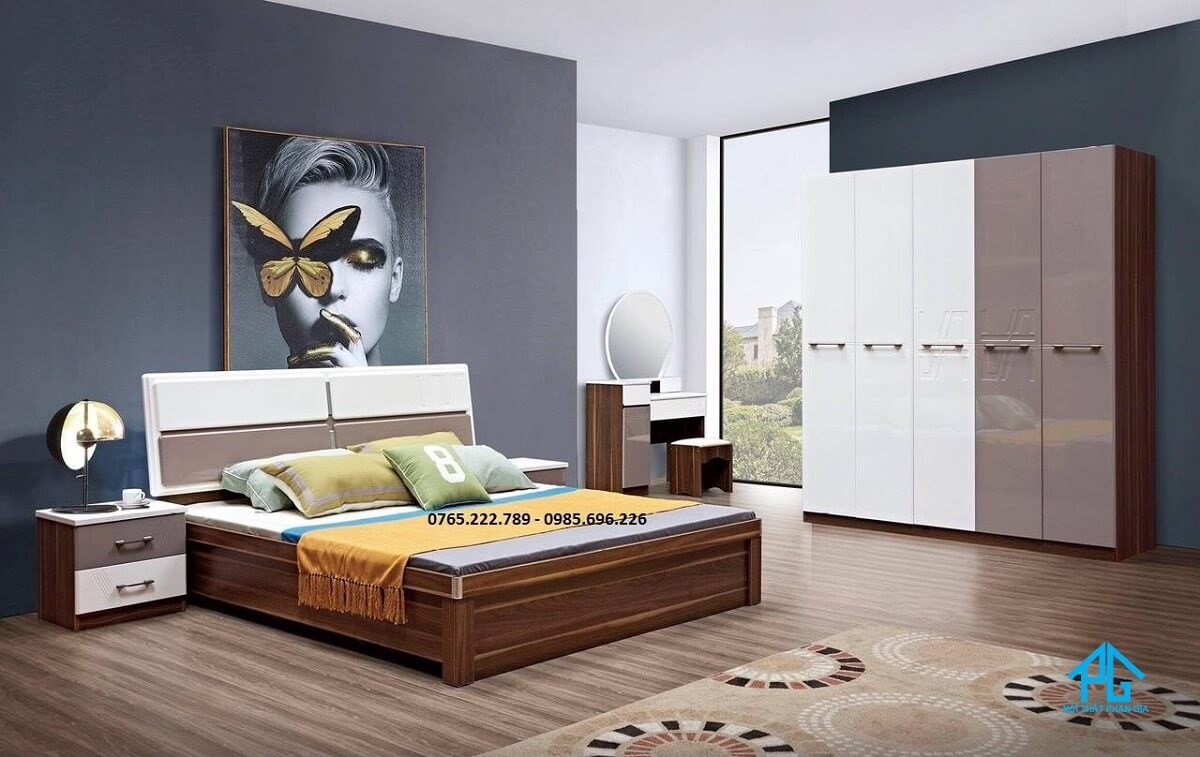 bảng giá thiết kế giường ngủ;