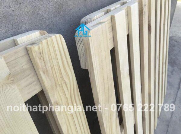 các loại gỗ làm giường pallet