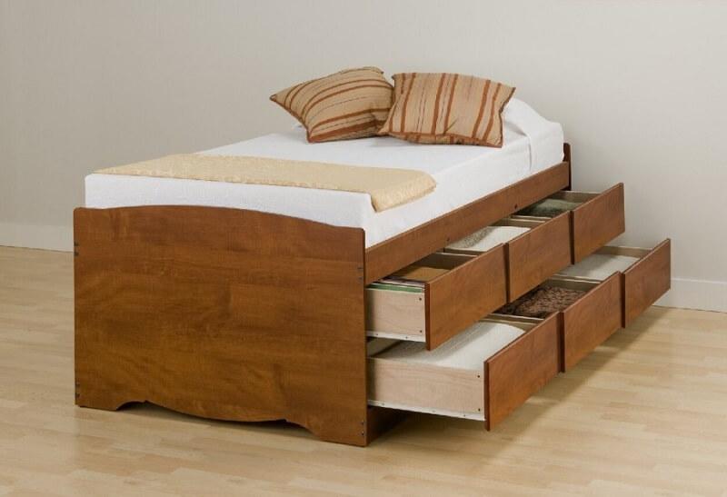 các mẫu giường ngủ thông minh đa năng