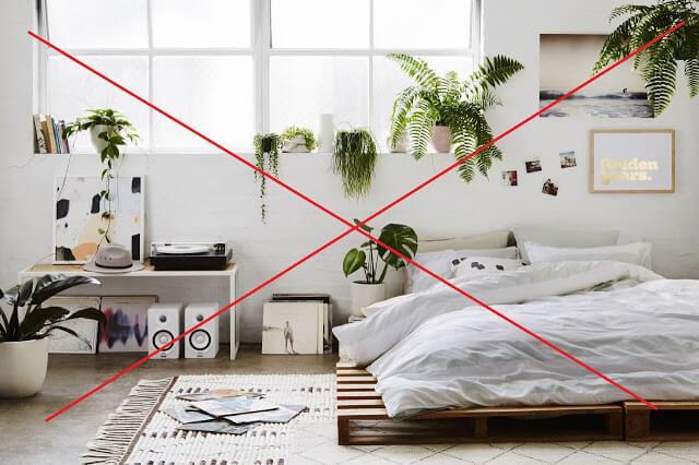 các quy luật phong thủy trong nội thất phòng ngủ