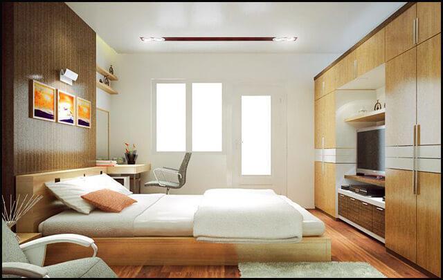 cách bố trí giường tủ đúng phong thủy