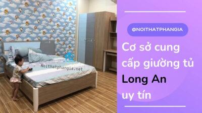cơ sở cung cấp giường tủ long an uy tín