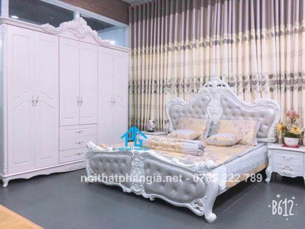 địa chỉ mua giường gỗ thiết kế uy tín