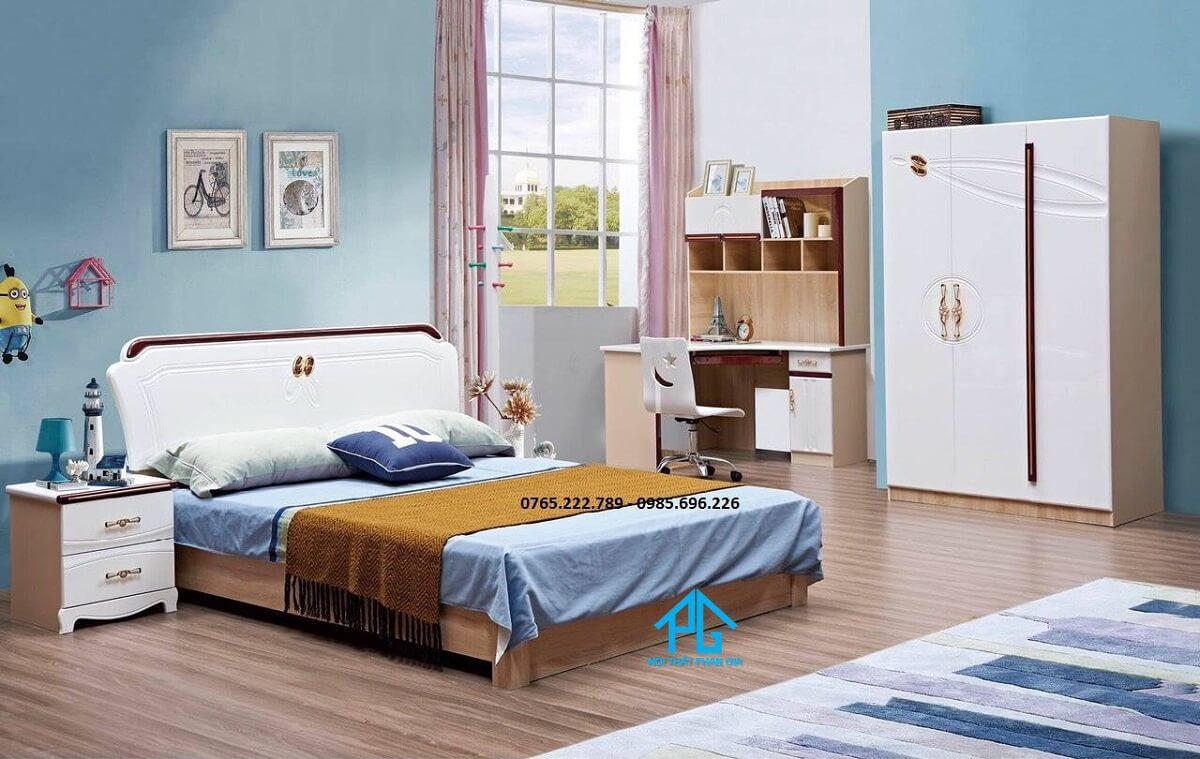 giường gỗ công nghiệp là gì;