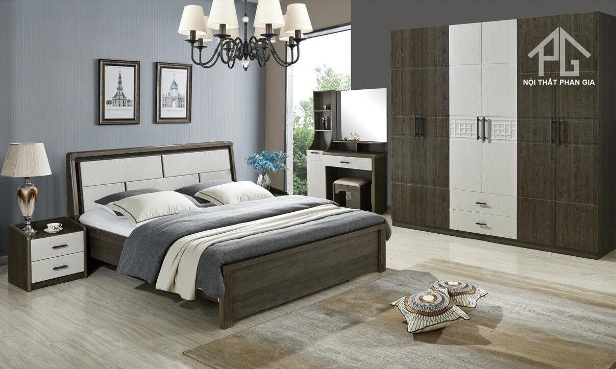 giường gỗ mdf chất lượng