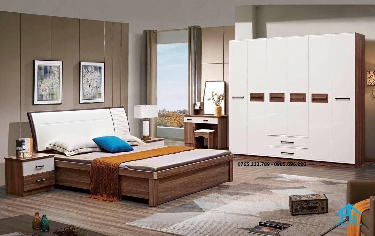 giường gỗ mdf phòng trẻ em