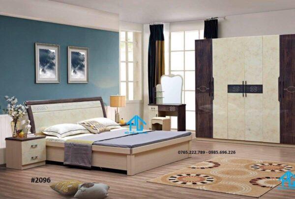 giường gỗ sồi nhật chất lượng