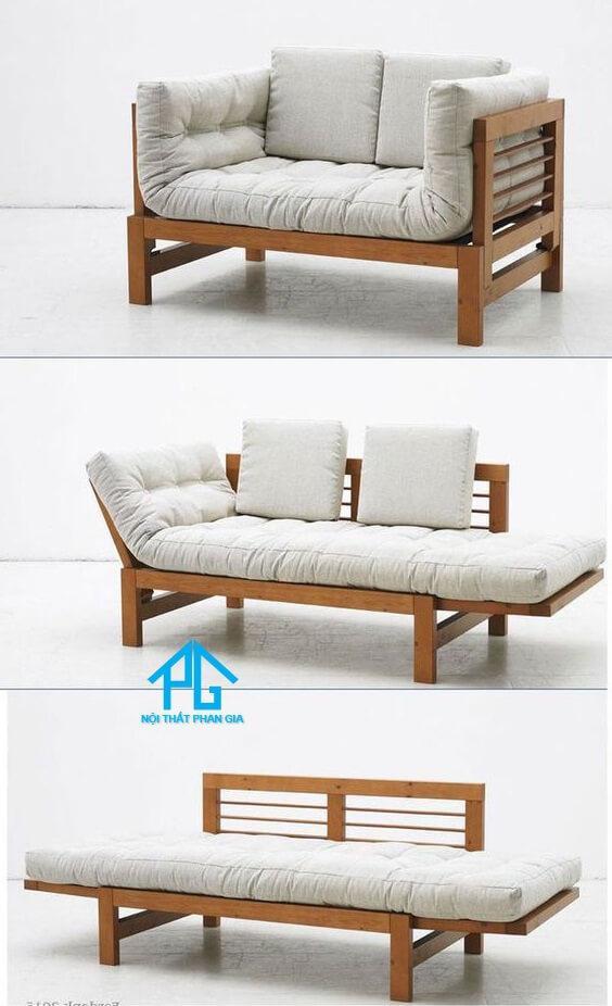 giường ngủ gấp gọn thành ghế sofa
