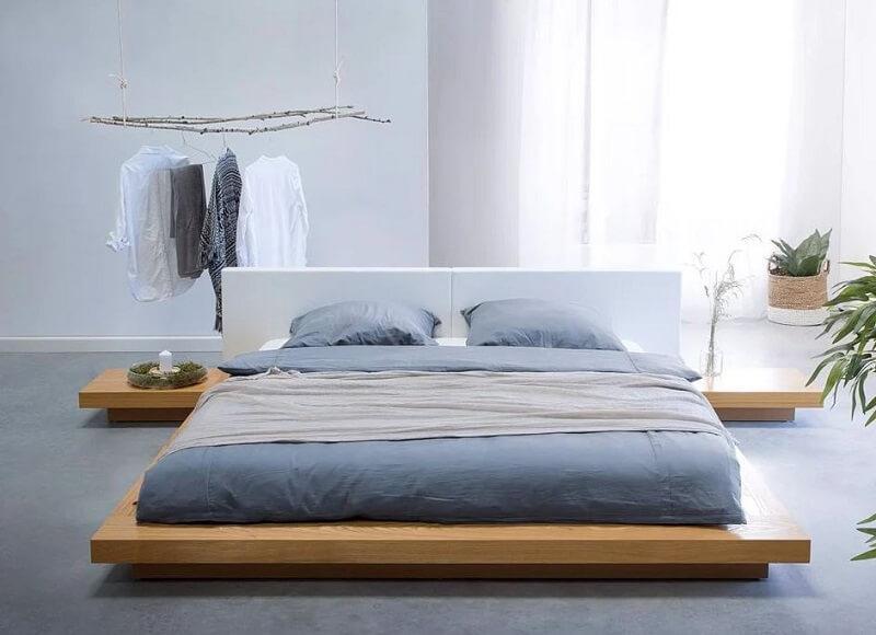 giường ngủ không chân nhật bản