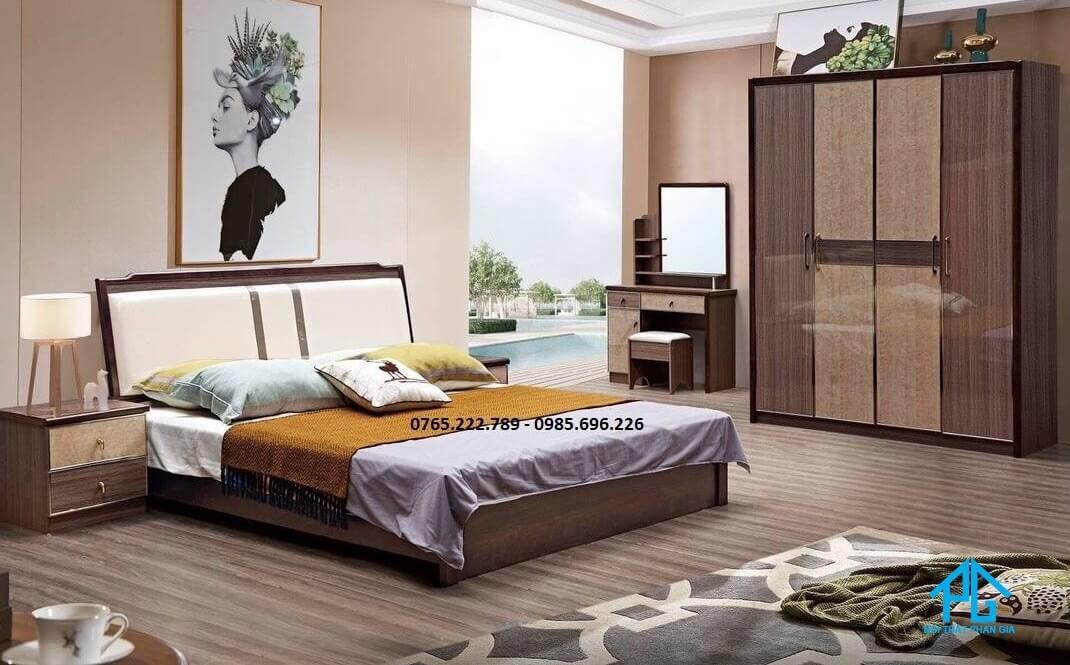 giường pallet thiết kế thông minh;