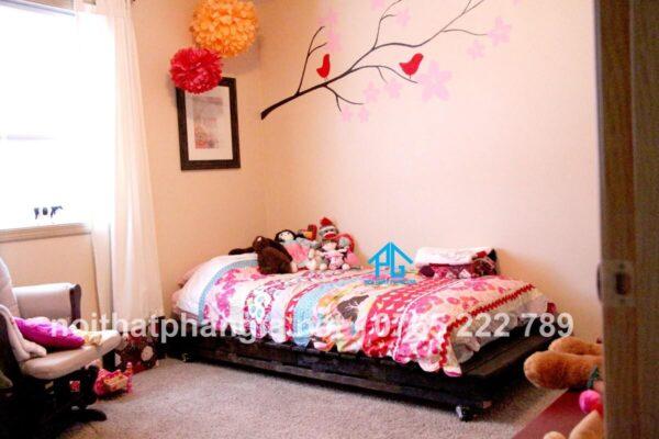 giường pallet trẻ em
