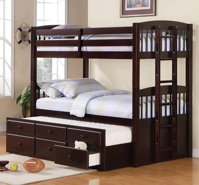 giường tầng trẻ em cao cấp kèm tủ
