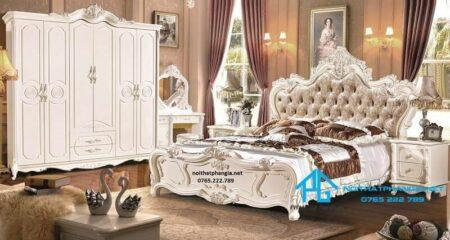 Giường tủ nhập khẩu 1602