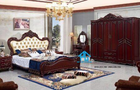 Giường tủ nhập khẩu 1640