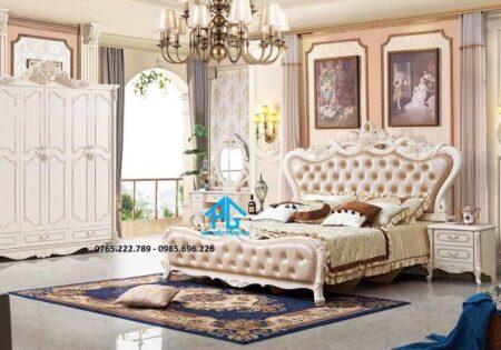 Giường tủ nhập khẩu 1716